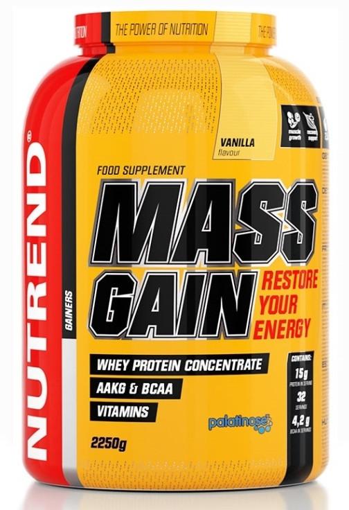Гейнер Nutrend Mass Gain 2250 g