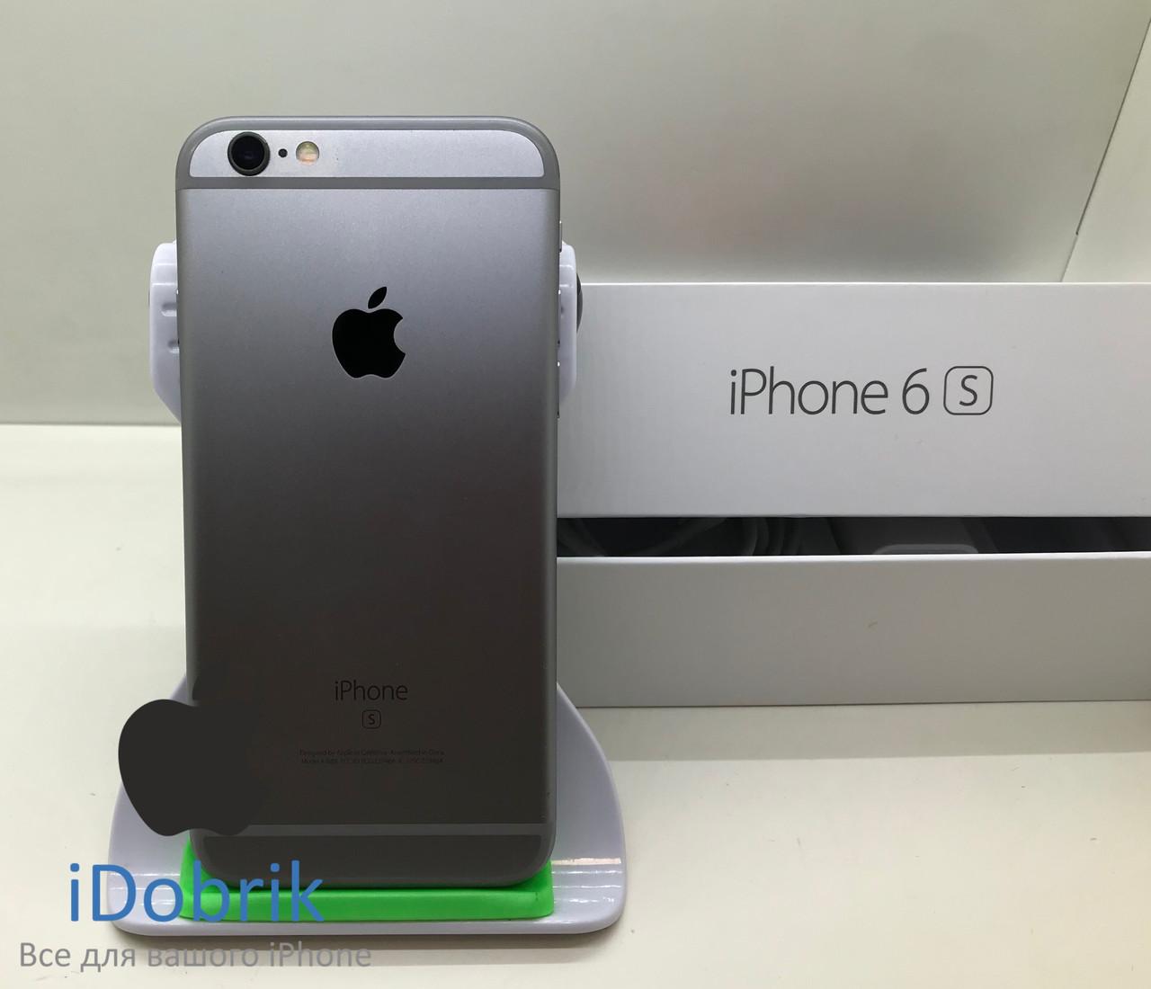 Телефон Apple iPhone 6s 32gb Space Gray Neverlock 9/10
