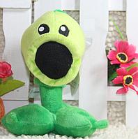 Мягкая плюшевая игрушка Растения против зомби Горохострел из игры Plants vs Zombies