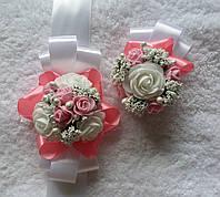 Набор экслюзивных бутоньерок на свадьбу, фото 1
