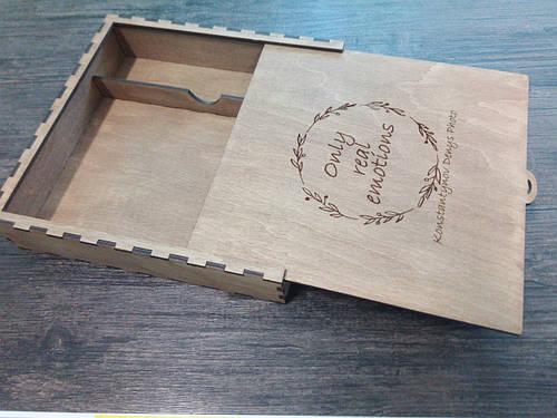 Коробка для фотографий, usb флешки, визитки