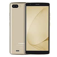 Смартфон Blackview A20 золотой (5.5 дюймов, памяти 1/8, акб 3000 мАч), фото 1