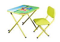 Детская парта Ommi со стульчиком Винни Лайм, фото 1