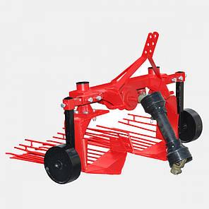 Картофелевыкапыватель вибрационный ДТЗ-2В  (двухрядный, без вала карданного, 24-40 л.с.), фото 2