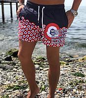 Мужские пляжные шорты монклер, шорты для пляжа moncler