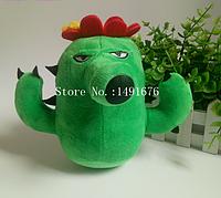 Мягкая плюшевая игрушка Растения против зомби Кактус из игры Plants vs Zombies