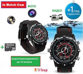 Спортивные часы со скрытой камерой - Jo Watch Cam. (Часы видеокамера, часы с камерой, часы камера)