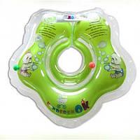 Надувной круг КиндеренОК Зеленое яблоко