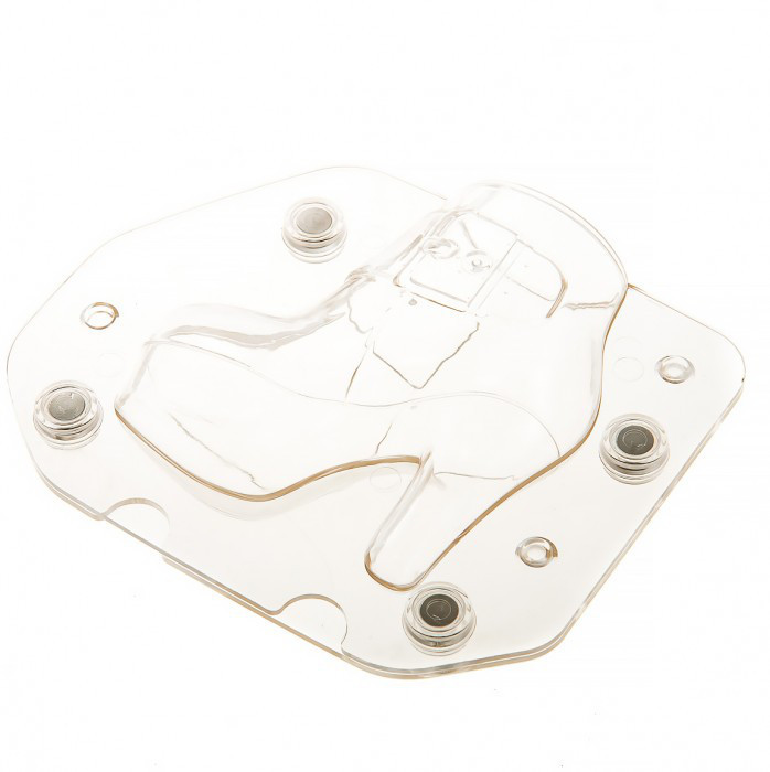 """Форма поликарбонатная для шоколада 3 D """"Ботинок"""" 170*50*140 мм (шт)"""