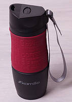 Термокружка с ремешком 380мл Kamille 2052A