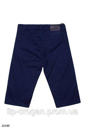 Мужские шорты синего цвета! 29 30 31 32 33 34 36 38, фото 2
