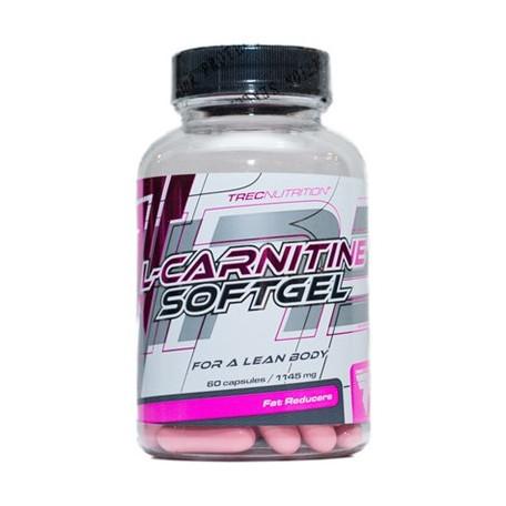 Жиросжигатель L-Carnitine softgel, 60 кап
