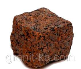 Брусчатка 10х10х10 колотая (красная), фото 2