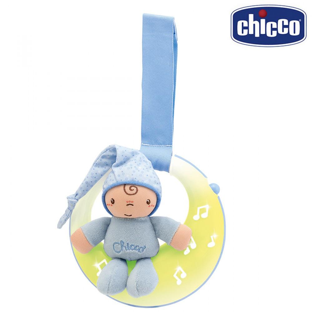Подвеска музыкальная Chicco Спокойной ночи / луна 02426.20 голубой