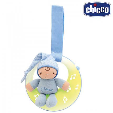 Подвеска музыкальная Chicco Спокойной ночи / луна 02426.20 голубой, фото 2