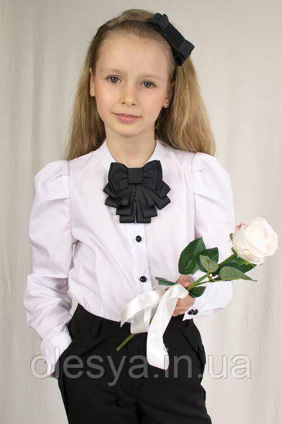 """Блуза с длинным """"пышным"""" рукавом ТМ Albero Размеры 146"""