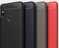 Накладка для Xiaomi Redmi Note 5 Carbon
