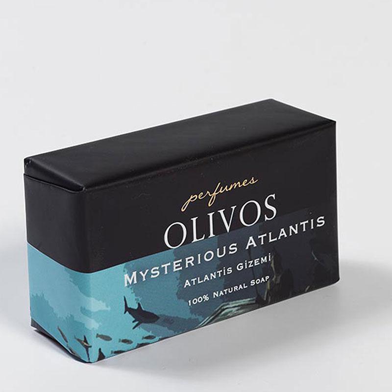 Оливковое натуральное мыло  Mysterious Atlantis  / Таинственная Атлантида / Olivos Perfumes .250г