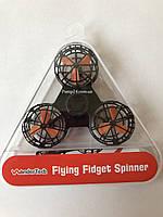 Летающий спиннер, Дрон Fidget Spinner Черный