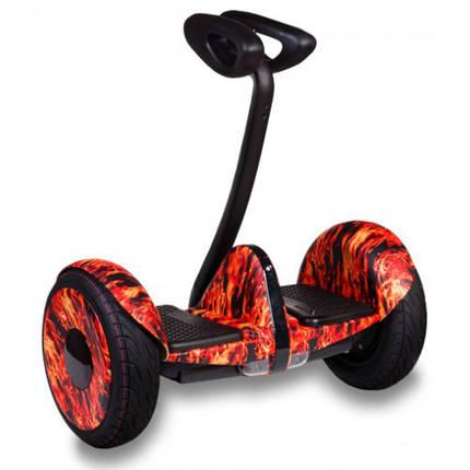 Сигвей, красный огонь Ninebot Mini колеса 10.5 Bluetooth, система Bar Control, фото 2