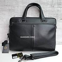 Мужской кожаный портфель H.T Leather