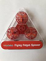 Летающий спиннер, Дрон Fidget Spinner Оранжевый