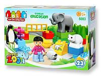 Конструктор  Зоопарк 23 детали JDLT(5083)