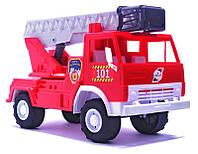 Игрушечная машинка К-маз Х2 Пожарная машина (027) Орион , фото 1