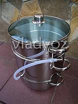 Соковарка из нержавеющей стали на 8 литров, фото 3