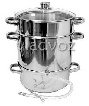 Соковарка из нержавеющей стали на 8 литров, фото 2