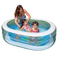 INTEX 57482 Надувной бассейн (163х107х46 см)