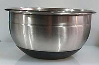 Миска нержавеющая круглая V 4350 мл Ø 260 мм ( шт )