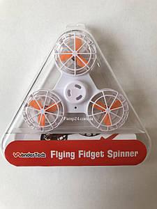 Летающий спиннер, Дрон Fidget Spinner Белый