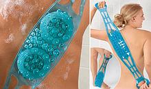 Мочалка массажная силиконовая Dual Sided Back Scrubber - мочалка массажер для спины