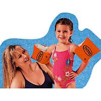 Надувные детские нарукавники Intex Интекс 58641  30*15см  Надувные нарукавники Intex 58641 из винила., фото 1