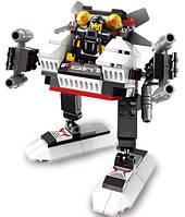 Конструктор Боевой робот серии Космический десант Sluban (B0336 A) , фото 1