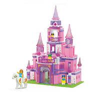 Конструктор Замок для принцессы серии Розовая мечта Sluban (B0152)