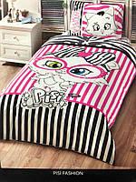 Подростковое постельное белье TAC Турция Pisi Fashion