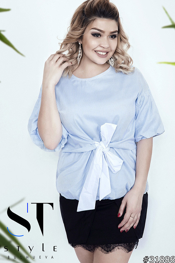 Женская блуза из коттона