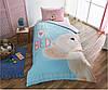 Подростковое постельное белье TAC Турция Мишка