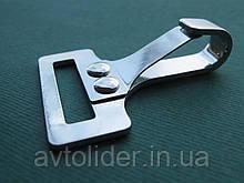 Нержавеющий карабин для плоских строп, шириной 25 мм, А2 (AISI 304).