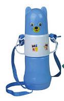 Термос-бутылка детская с соской 0,25 л 80026 А+