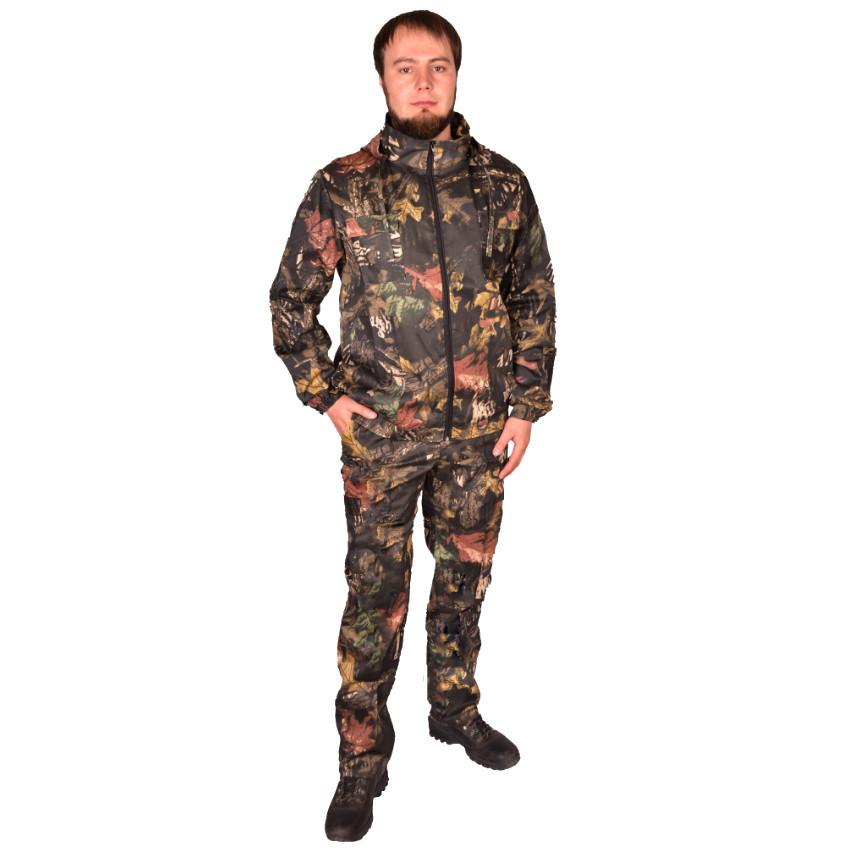 Камуфляжний костюм з капюшоном UkrCamo КДТ 52р. Дубок темний