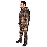 Камуфляжний костюм з капюшоном UkrCamo КДТ 52р. Дубок темний, фото 6