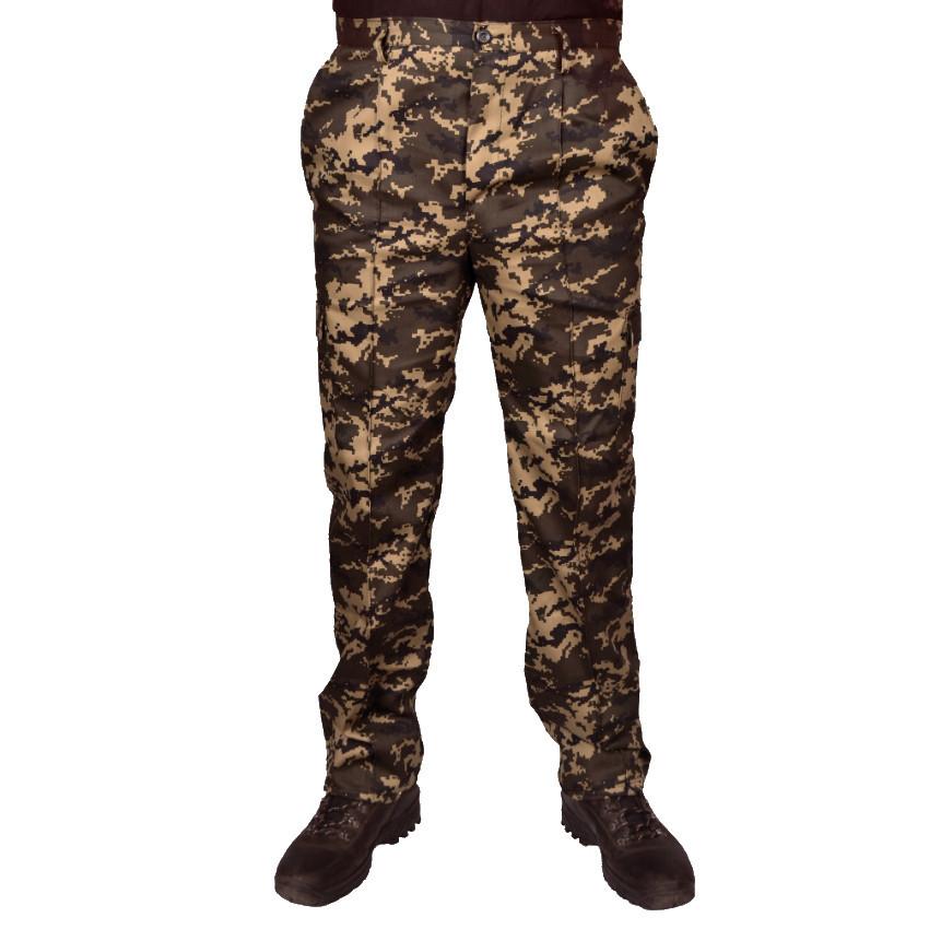 Штаны камуфляжные под ремень UkrCamo ШПТ 58р. Пиксель тёмный