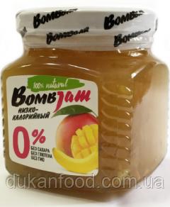 """BomBJam """"Манго-банан"""" низкокалорийный джем"""