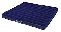 Матрас надувной двухместный 152х203 см. Intex 68759