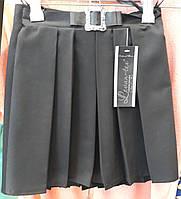 Школьная юбка для девочки рассклешенная