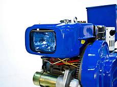Мотоблок дизельный Garden Scout GS 101 D + почвофреза 100 см + сидение (адаптер), фото 2