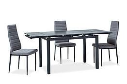 Стол обеденный стеклянный TURIN Signal черный